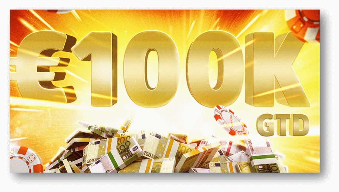 Der Big Bang 100.000 € GTD-Poker-Preispool