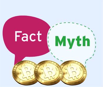 Fakten und Mythen über Bitcoin