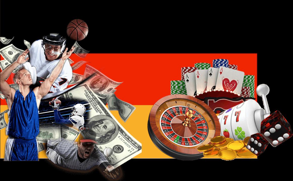Casino-Spiele und Sportwetten in DE