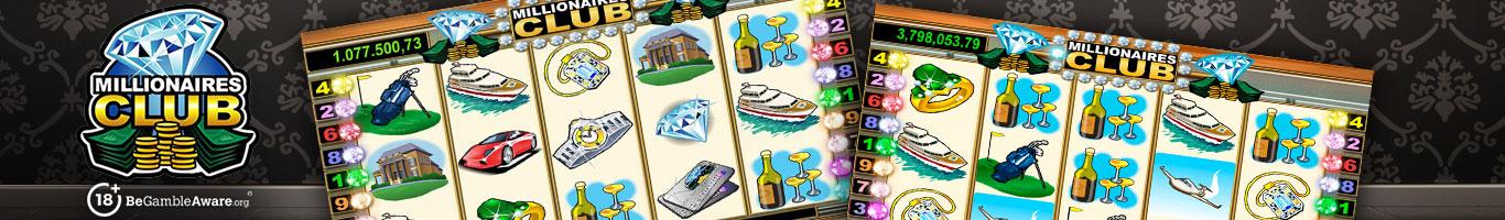 Millionaire Club Slot Banner