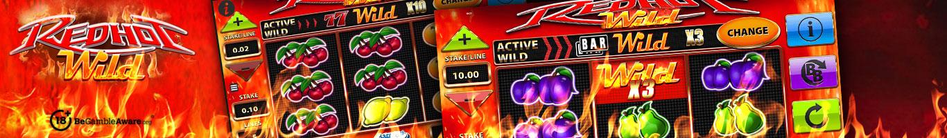 Red Hot Wild Slot Banner