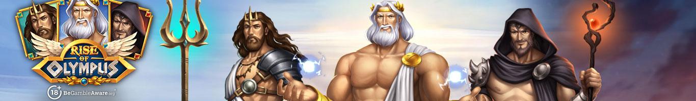 Rise Of Olympus Slot Banner