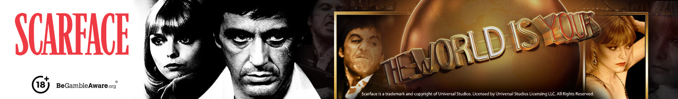 Scarface Slot Banner