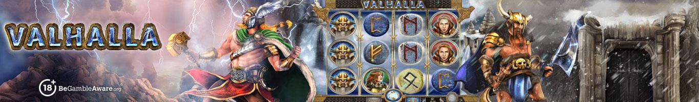 Valhalla Slot Banner