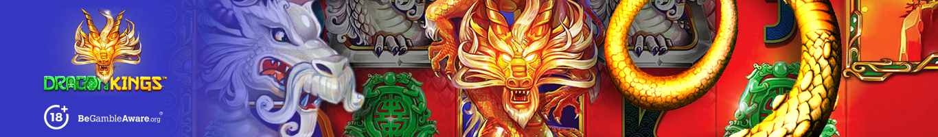 Dragon Kings Slot Banner