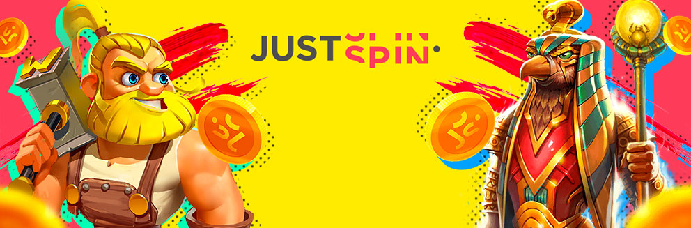 JustSpin Casino banner
