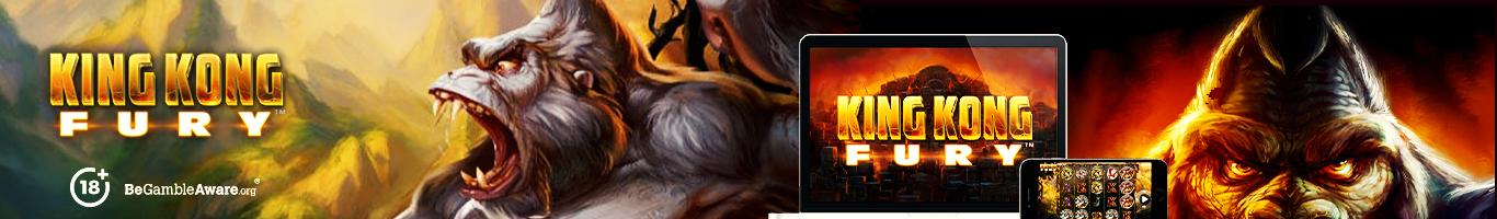 King Kong Fury Slot Banner