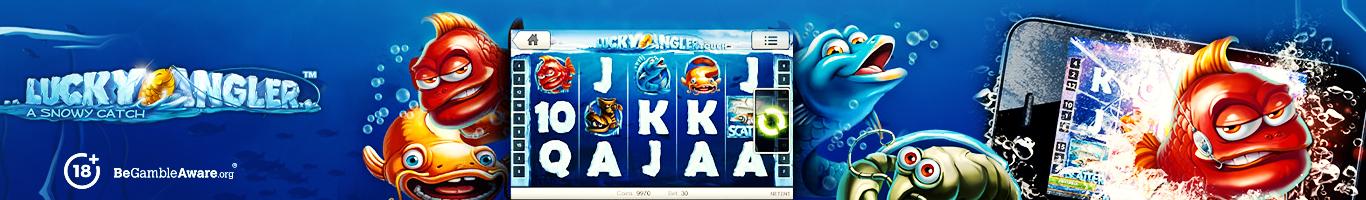 Lucky Angler Slot Banner