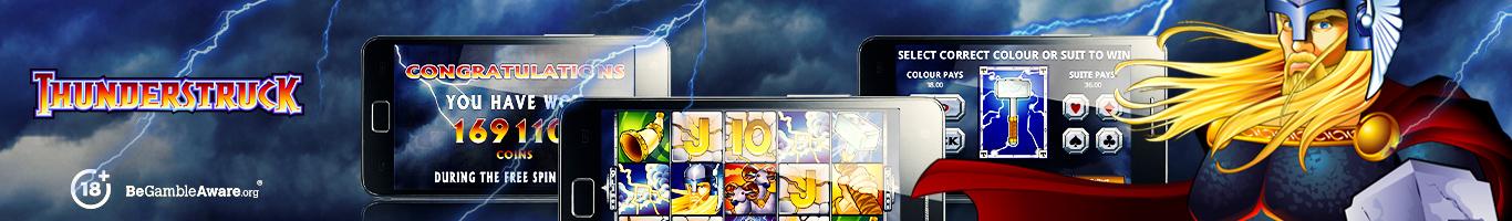 Thunderstruck Slot Banner