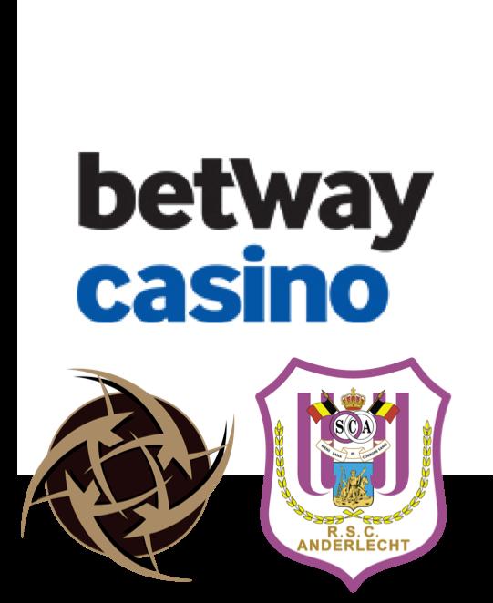Betway sponsert RSC Anderlecht und Ninjas in Pyjamas