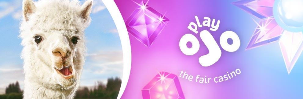 Play Ojo casino banner