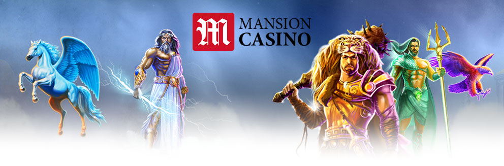 Mansion Casino Banner