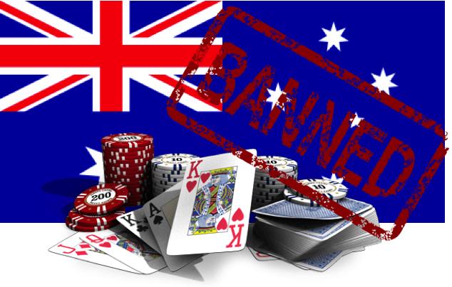 Australien verbietet Online-Poker und -Casino