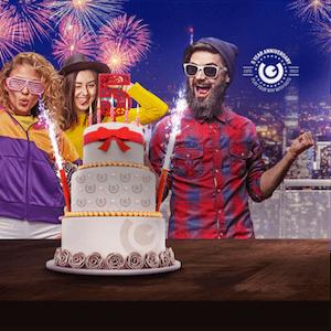 Guts Casino feiert mit Aktion zum 5. Geburtstag