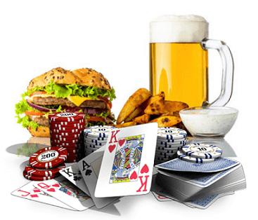 Machen Beer & Junkfood Wettspiele attraktiver