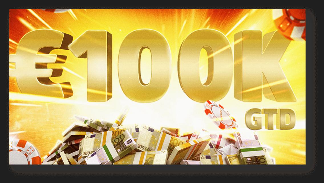Der Big Bang 100.000 € GTD-Poker-Preispool