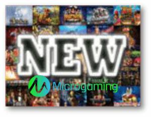 3 Neue Spielautomaten von Microgaming
