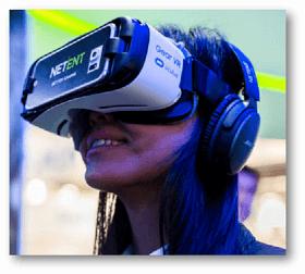 NetEnt bringt den ersten VR-Spielautomaten der Welt heraus.