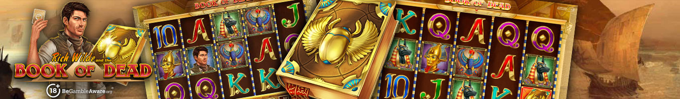 Book Of Dead Slot Banner