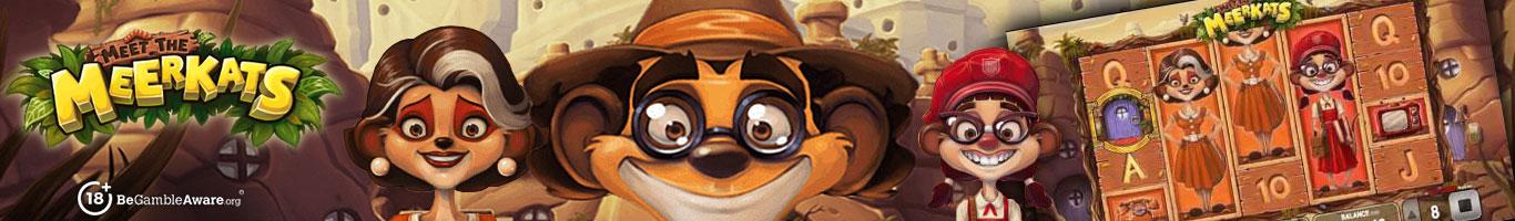Meet The Meerkats Slot Banner