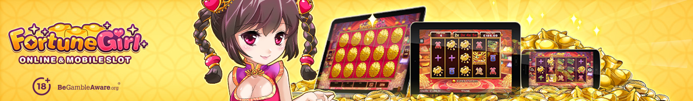 Fortune Girl Slot Banner