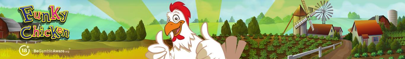 Funky Chicken Slot Banner