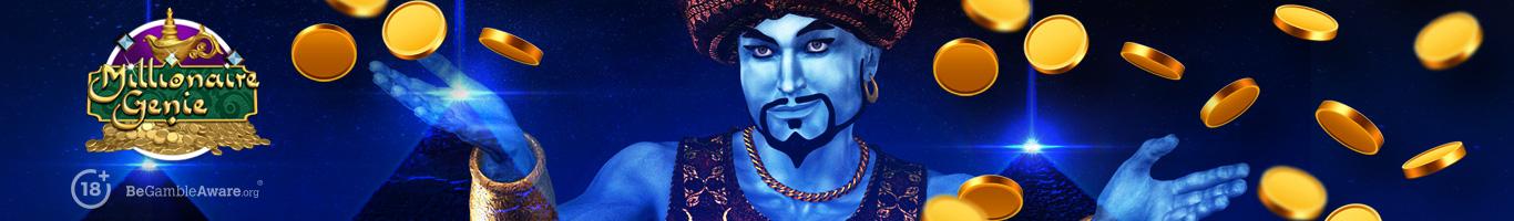 Millionaire Genie Slot Banner