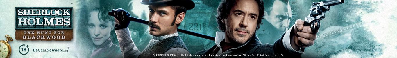 Sherlock Holmes Slot Banner