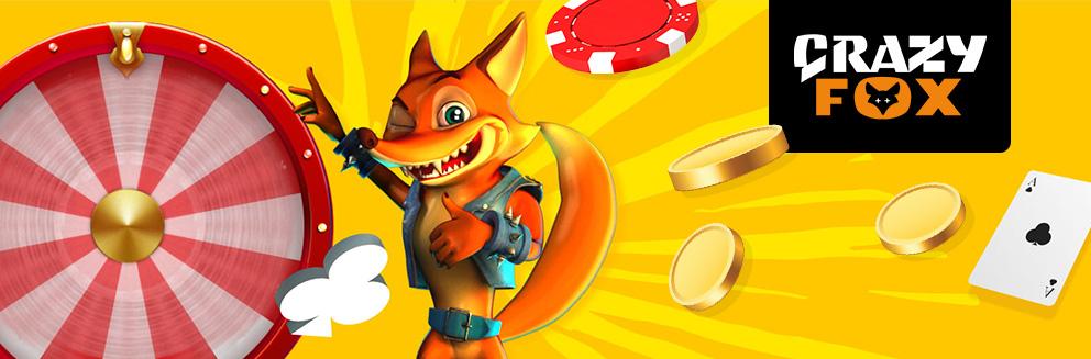 crazy fox banner
