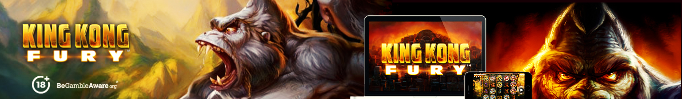 King Kong Fury Slot Banner