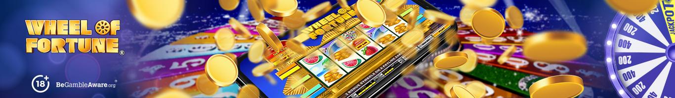 Wheel Of Fortune Slot Banner