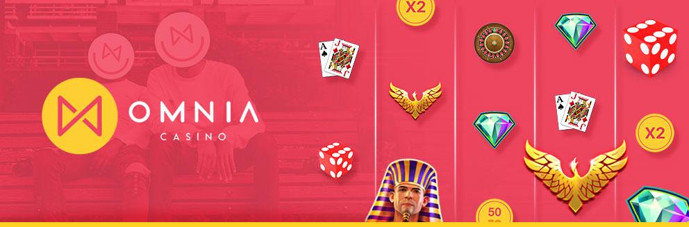 Omnia Casino Banner