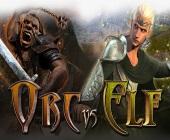 Der Orc vs Elf Online Spielautomat