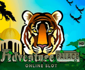Microgamings Adventure Palace Spielautomat: Dschungelreise