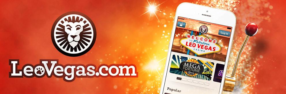 Leo Vegas Casino Review Banner