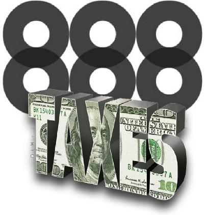 888 von deutschen Steuern schwer getroffen