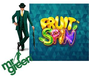 Mr Green bietet exklusive Aktion zum Spielautomaten Fruit Spin