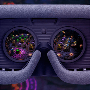 In einen VR-Spielautomaten kann man richtig eintauchen
