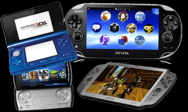 tragbaren Gaming-Geräte
